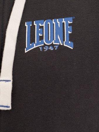 LEONE - BLUZA MĘSKA NA ZAMEK XS [LSM1500_STALOWA]