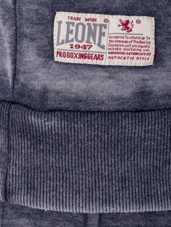 LEONE - BLUZA Z KAPTUREM S [LSM1537_granatowa]