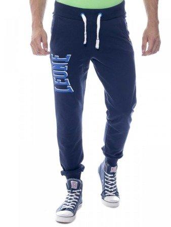 LEONE spodnie dresowe granatowe XXL [LSM1660]