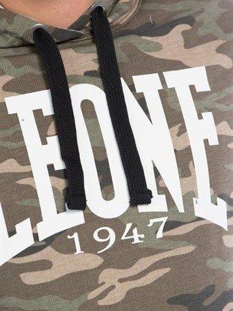 Leone - bluza z kapturem Camo brąz