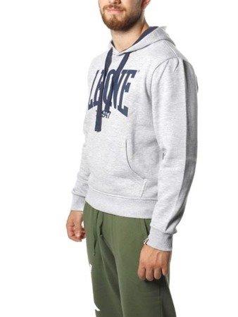Leone - bluza z kapturem szara