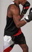 Spodenki, szorty bokserskie FIGHTER LIFE marki Leone1947