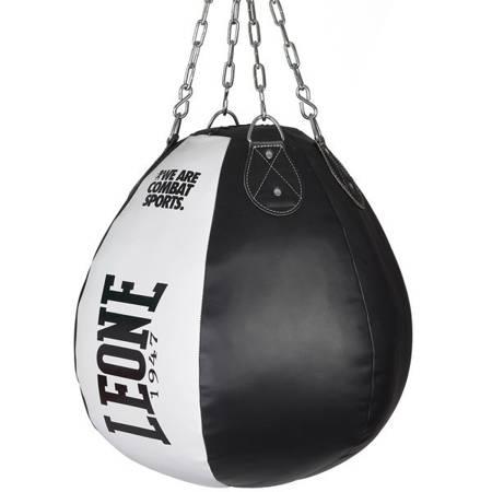 Worek treningowy bokserski czarno-biały [20kg] marki Leone1947